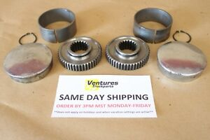 Dana 44 Drive Flange Set Heavy Duty 19 Spline Chevy Dodge Ford Jeep Full 4x4 Ebay