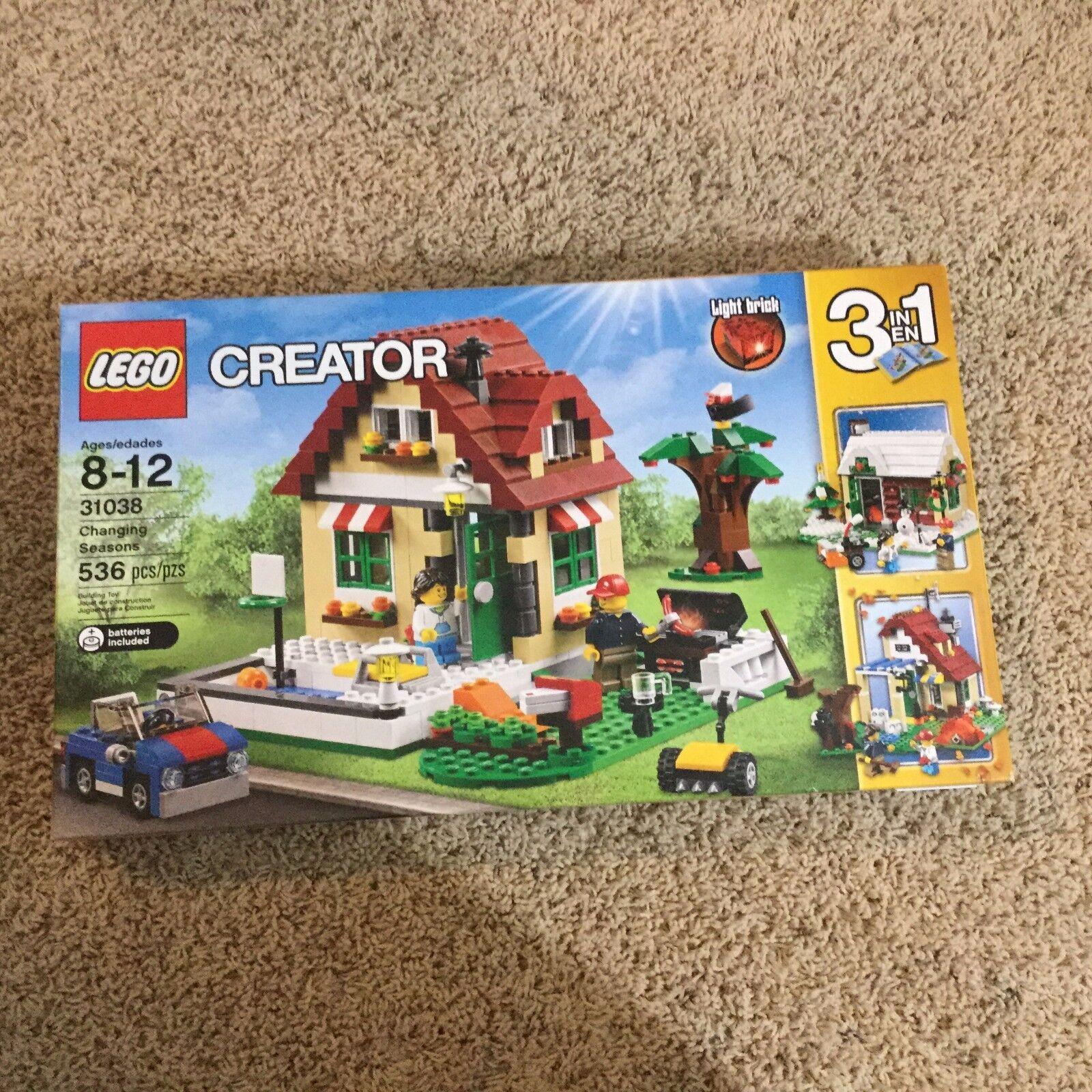 Lego Creator  Changing Seasons BRAND NEW SEALED