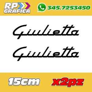 COPPIA-ADESIVI-ALFA-ROMEO-sticker-GIULIETTA-AUTO