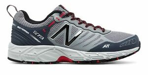 New-Balance-Male-Men-039-s-573-Trail-Mens-Running-Shoes-Grey-With-Grey-amp-Red