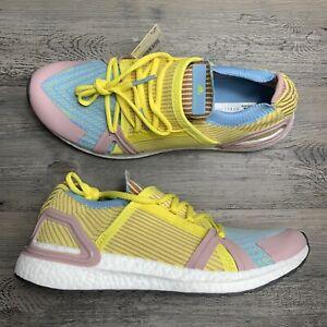 Details about Women's Adidas Stella McCartney Ultraboost 20 S Yellow Violet Size 5 EG1071