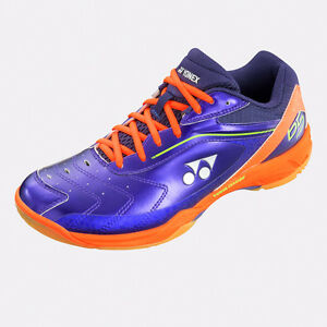 NEW YONEX SHB-65 SHB-65EX PURPLE ORANGE POWER CUSHION 65 BADMINTON ... 2070355c7dafa