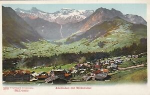 AA165-CPA-SUISSE-Adelboden-mit-WILDSTRUBEL-carte-colorisee-precurseur