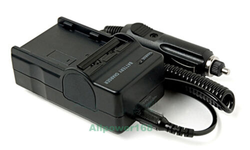 Cargador Rápido Para Canon Fs100 Fs200 Fs100 Fs300 Fs40 Fs400 Flash memoria videocámara