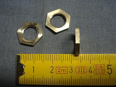 réf A8 Ecrous 6 pans en acier pas des luminaires 8 mm x 1 mm lot de 12