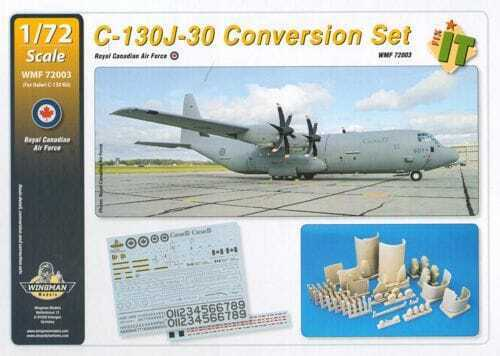 Wingman Modells WMF 72003 - 1 72 C-130J-30 Conversion Set - Neu