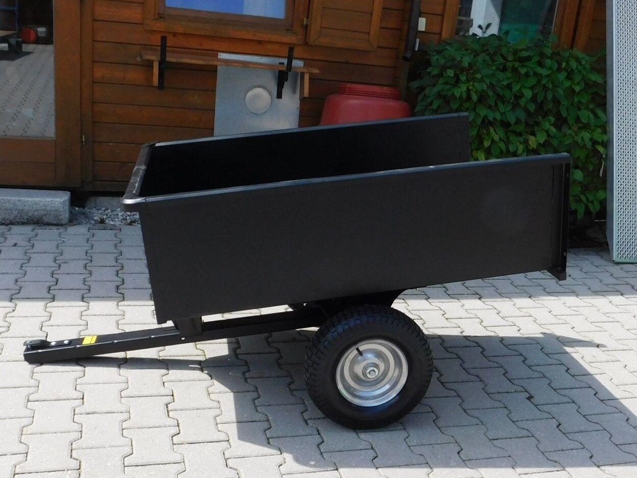 Rasentraktor Anhänger, kippbar 500 kg