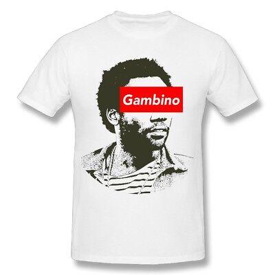 Childish Gambino 2018 White Shirt Donald Glover Rapper