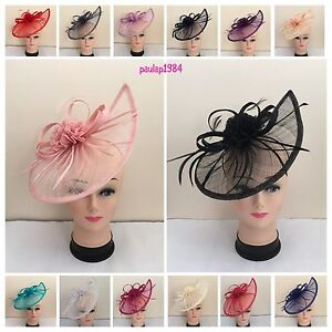Elegant Headband Aliceband Hat Fascinator Weddings//Ladies Day Race Royal Ascot