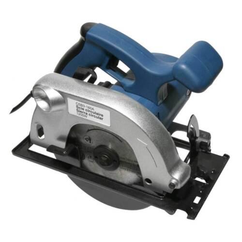 1200 W Handkreissäge 160 mm carbure HM Lame de scie scie circulaire NEUF almipex