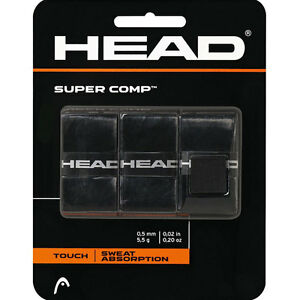 HEAD-Super-Comp-Overgrips-Grip-Tape-Tennis-Badminton-Squash-Rackets-OverGrip