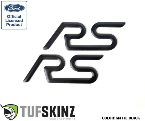 2 Piece Kit TufSkinzRear Spoiler Inserts Fits 2016-2018 Ford Focus RS