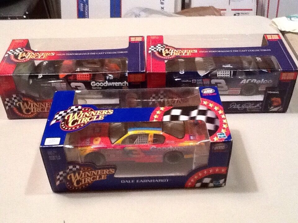 NasCoche Diecast 3 Dale Earnhardt Sr MultiColor Acdelco GM Goodwrench Chevy Monte