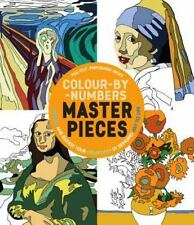 color by number masterpieces - Color By Number Books
