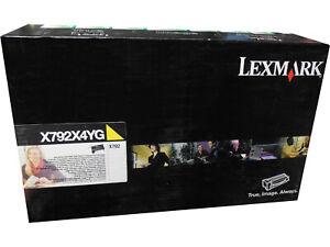 Lexmark-X792X4YG-X792X2YG-X792X1YG-Yellow-Extra-High-Yield-Toner-Cartridge-OEM