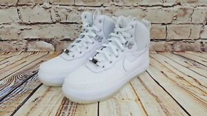 Nike Air Force Lunar Force 1 LF Duckboot Triple White 882842 100 Sz 5.5Y