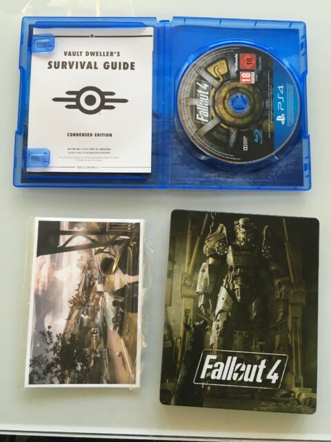 Fallout 4 - Steelbook Pack (Sony PlayStation 4, 2015)