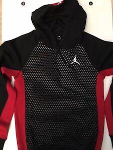 à Jordan capuche rouge NouveauSweat noir Ml blanc F3Tl1JcK
