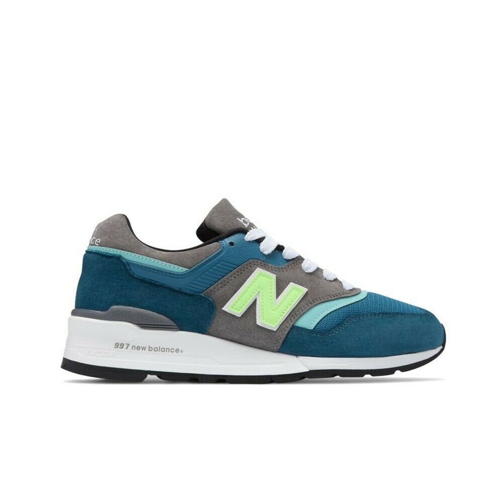 New Balance M997 Made in USA M997PAC (bluee Green) Men's shoes