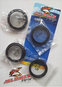KTM-SX-EXC-125-250-300-360-380-Anillo-reten-HORQUILLA-tapones-de-plastico