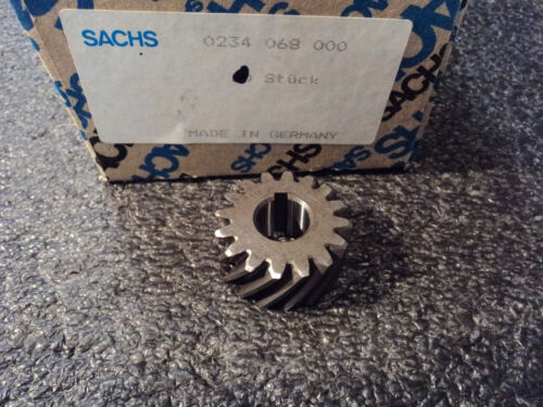 16 ZähnSachs 50//2 MB  0234 068 000 Sachs Stamo  Antriebszahnrad  Kurbelwelle