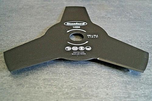 Mulchmesser Dickichtmesser f Freischneider Messer 3 Zahn eckig 255mm Klinge 5 St