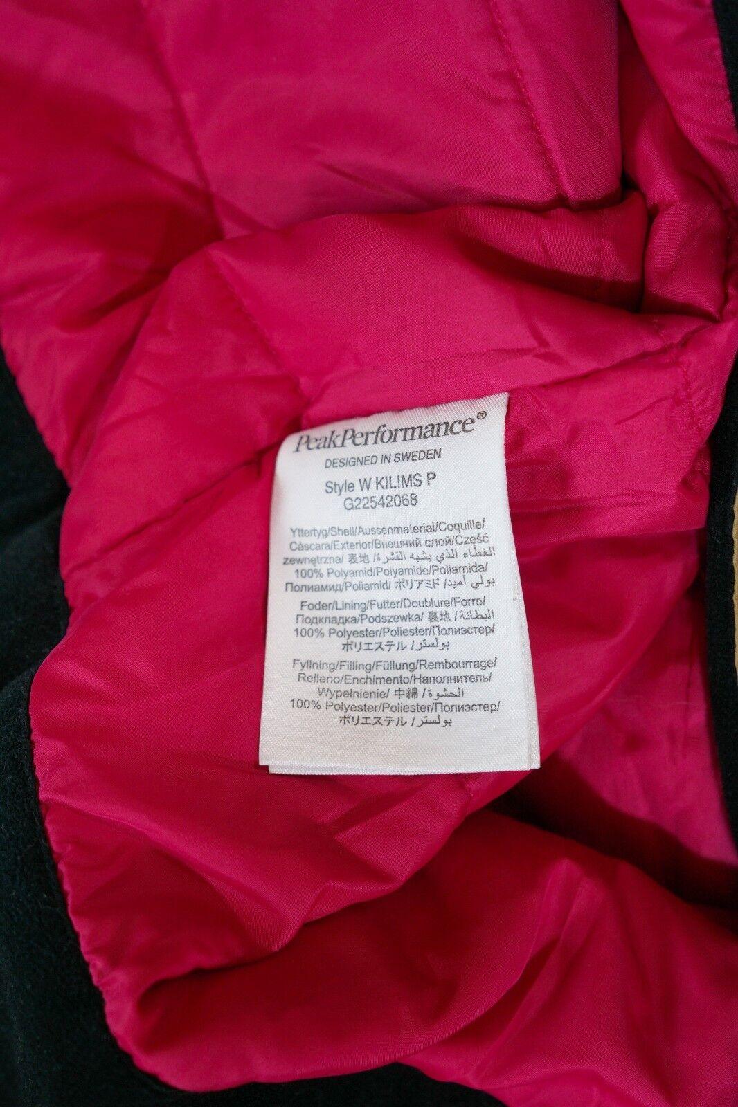 Damens Peak Performance Skiing Trousers Snowboarding Waterproof Trousers Skiing L W36 L30 49960b