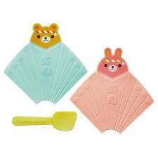 Torune Mama 's assist 2er sushi Maker mano Roller' oso & liebre' / bento/Japón