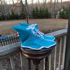 NEW US Size 8.5 JEREMY SCOTT ADIDAS JS SHARK FIN BLUE BRAKE TAIL LIGHTS S77799