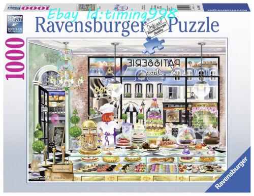 Ravensburger Paris/'s Sumptuous Desserts 1000 Adult Decompression Puzzle Toy New
