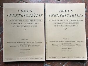 Domus Inextricabilis Mémoire De Command Séverine Jouve ; Jean De Palacio 1986