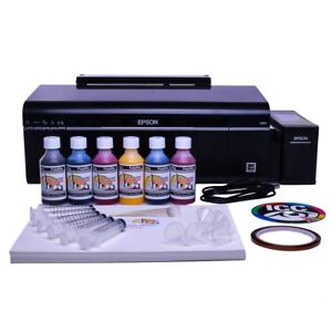 Details about Non OEM Epson EcoTank L805 Printer Bundle - with paper and  sublimation ink
