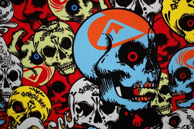30x150cm-Sticker-Bomb-Stickerbomb-Car-Wrap skull