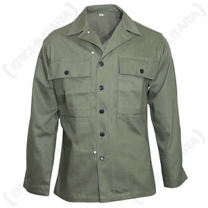 US AMERICAN ARMY GREEN HBT JACKET - WW2 Repro All Sizes Military ...