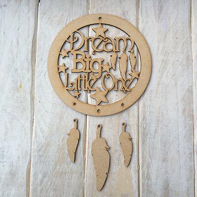 MDF Wood Dreamcatcher Wooden Make Your Own Dream Catcher Wooden Ring
