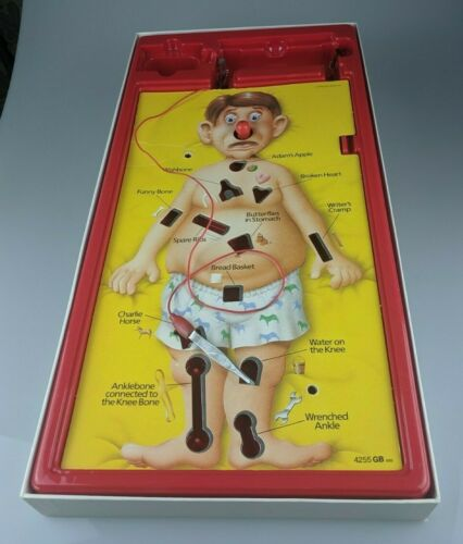 Body Parts Vintage MB Operation 1988 Spares//Repairs Doctor//Specialist Cards