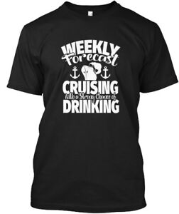 Funny-To-Wear-On-Cruise-Forecast-C-Weekly-Cruising-Hanes-Tagless-Tee-T-Shirt