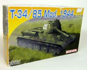 Dragon-1-72-Scale-7269-T-34-85-Mod-1944-Army-Tank-Plastic-Model-Kit