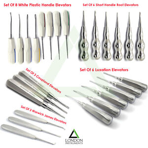 Surgical-Luxation-Elevators-Teeth-Extraction-Tooth-Loosening-Instruments-CE-NEW