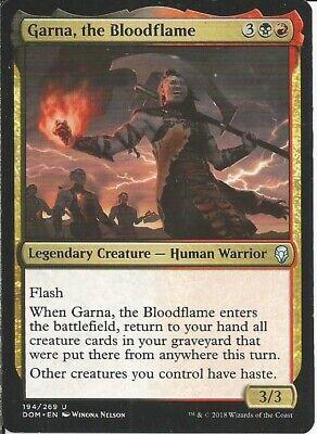 Red//Blue Parun : Custom Magic MTG Commander EDH Deck 100 Cards Niv-Mizzet