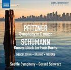 Pfitzner: Symphony in C; Schumann: Konzertstuck for Horn (CD, Sep-2012, Naxos (Distributor))
