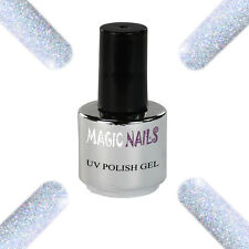UV Polish Soak Off Gel Nail Art Nagellack Farbe # Platinum