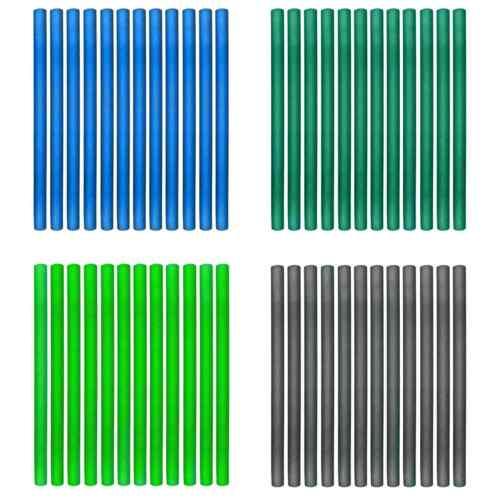 Rohrpolsterungen Polsterungen in grün für die Netzstangen vom Trampolin