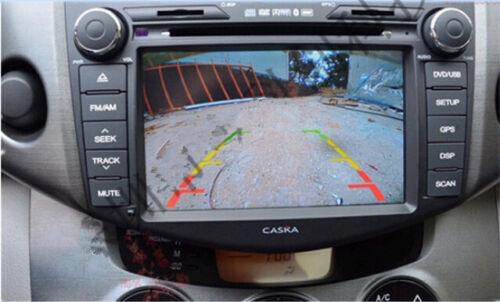 18,5 mm automóvil reversa con parking Cámara Kits de 170 ° Mini CCD impermeable