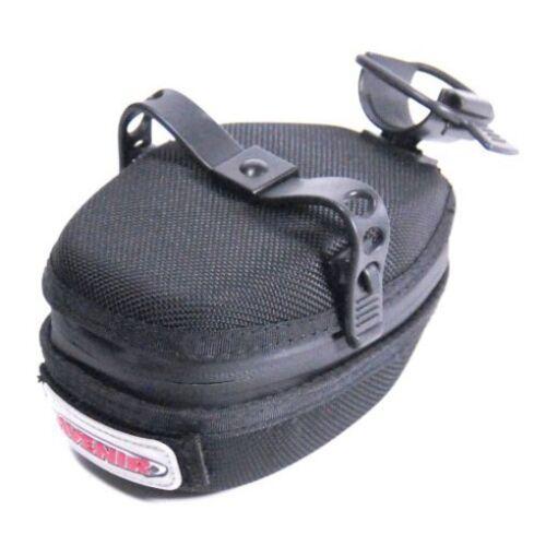 Avenir Escape Pod Weather-proof Bike Saddle Seat Bag Black Universal Bicycle