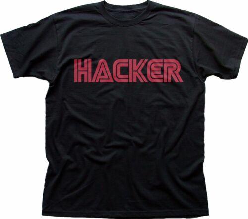 HACKER MR Robot Anonymous black cotton t-shirt FN9308