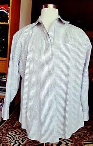 JOSEPH-amp-FEISS-NON-IRON-SLIM-FIT-Mens-Shirt-Size-19-34-35-100-Cotton