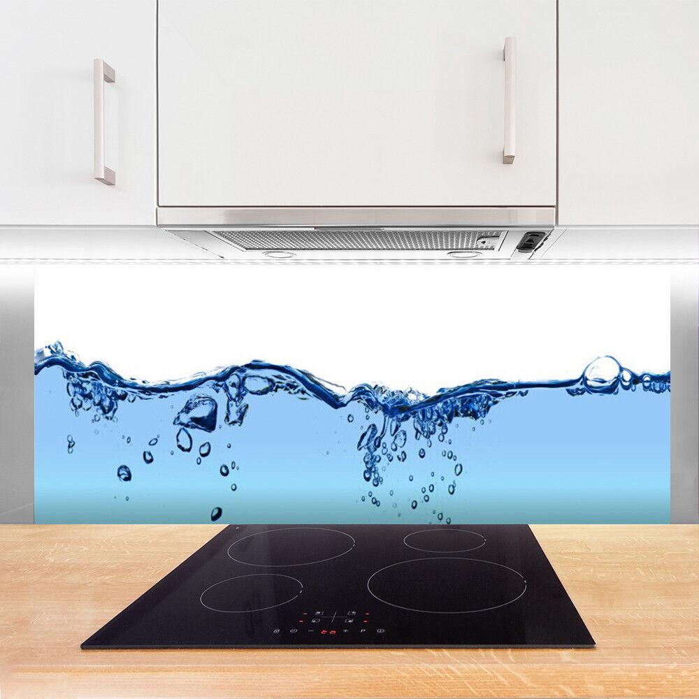 Crédence de de de cuisine en verre Panneau 125x50 Art Eau f6d50f