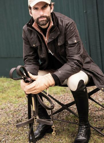 Hommes Veste Marron Horse 2018 Nouvel Oak Mountain Hiver Oilskin Foncé qx11nBfdw