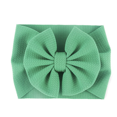 Baby Girls Headband Hairband Toddler Fabric Bow Knot Headwraps Turban Headwear